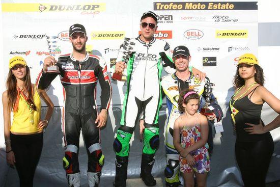 Podio Trofeo Motoestate Imola 2012