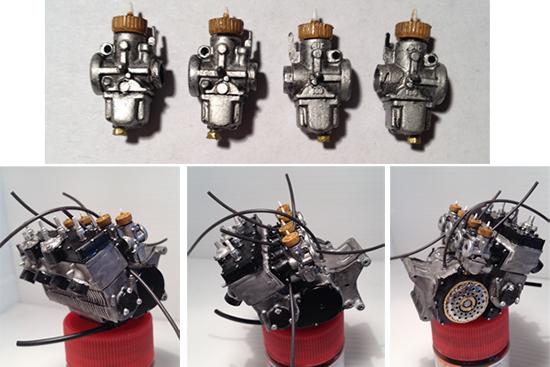 Dettaglio motore Yamaha YZR 500 OW20 [1:9] Italeri